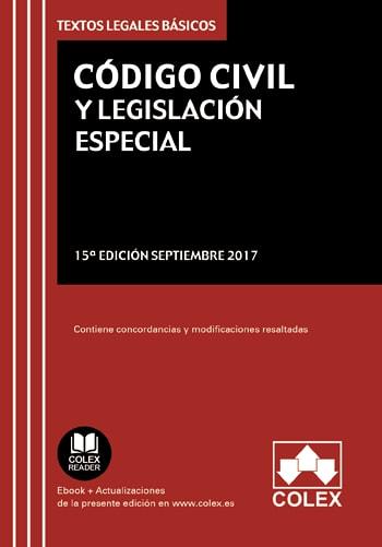 Código Civil y Legislación Complementaria
