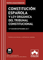 Constitución Española y Ley Orgánica del Tribunal Constitucional