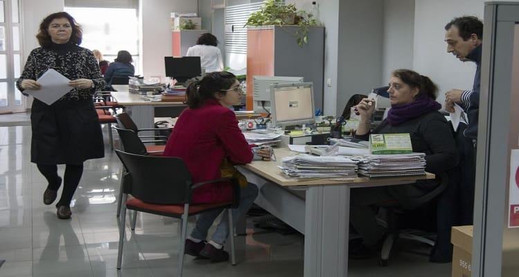 trabajadoras oficinas
