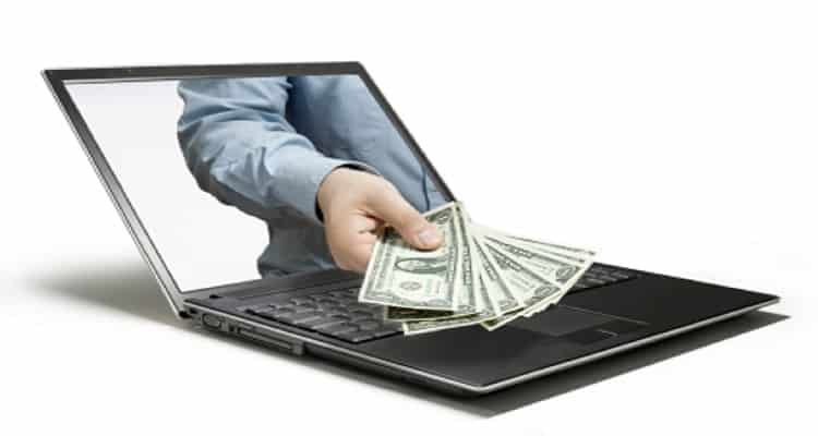 Portátil dinero transferencia efectivo inmediato