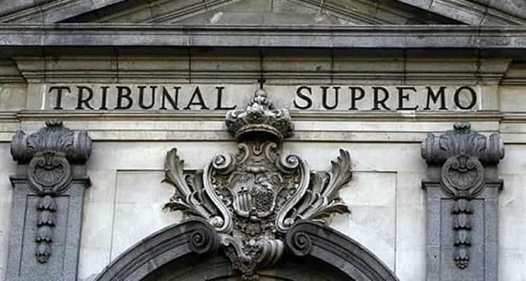 Tribunal Supremo edificio Sentencia