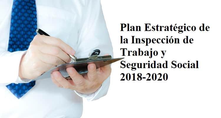 Resultado de imagen de PLAN ESTRATÉGICO DE INSPECCIÓN DE TRABAJO Y SEGURIDAD SOCIAL 2018-2020