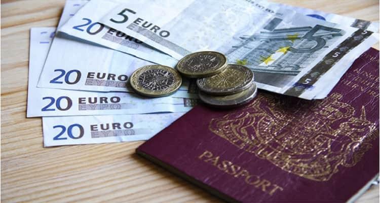 pasaporte dinero