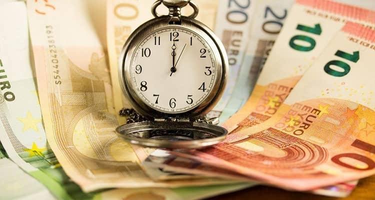 reloj dinero
