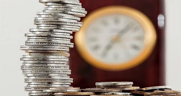 dinero reloj