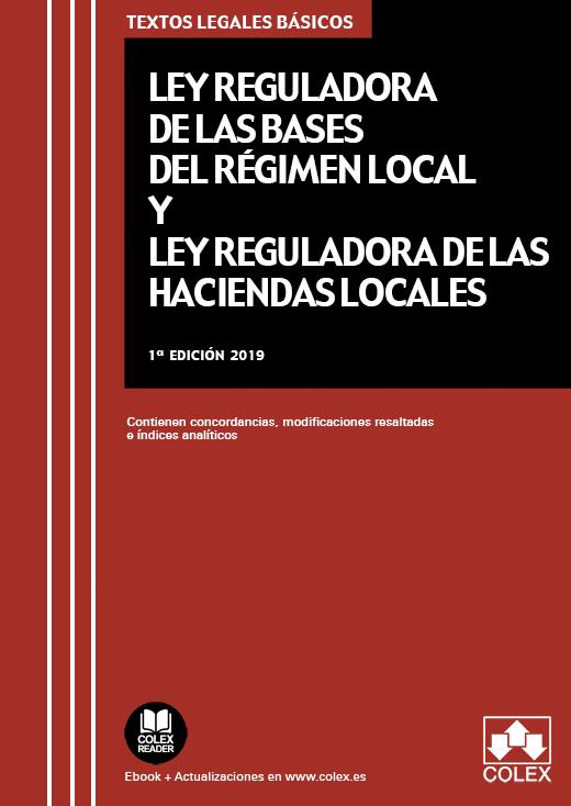 Código de Bases de Régimen Local y de Haciendas Locales.