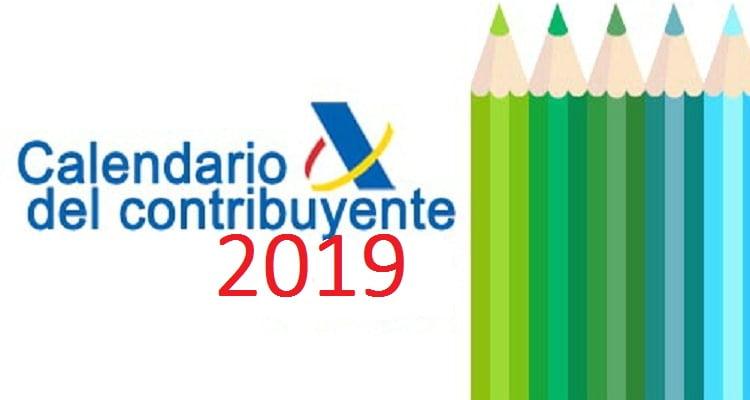 Aeat Calendario Fiscal 2020.Calendario Del Contribuyente Para El Ano 2019 Iberley