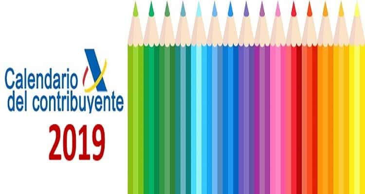 calendario contribuyente 2019