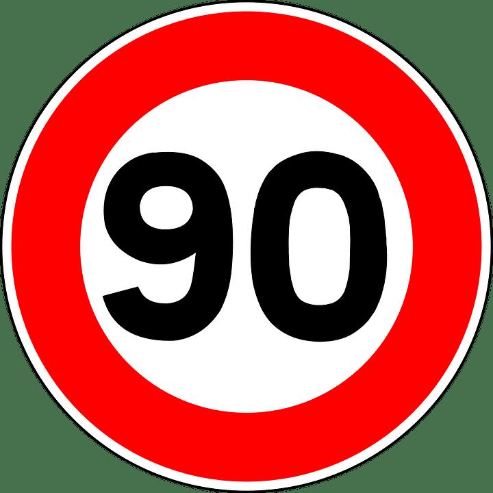 señal 90