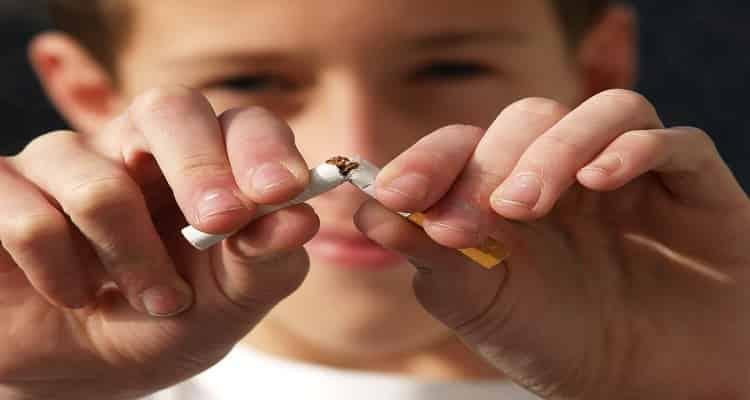 cigarro niño