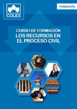 Curso online de los recursos en el proceso civil con formularios.