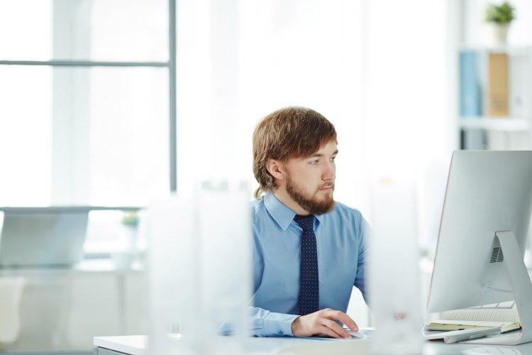 Trabajador ordenador