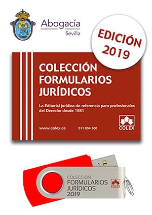 USB. Formularios Jurídicos 2019. Edición especial Iltre. Colegio de Abogados de Sevilla