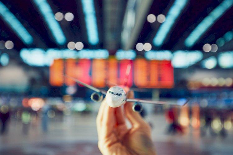 avión terminal