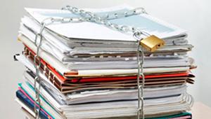 seguridad datos papel