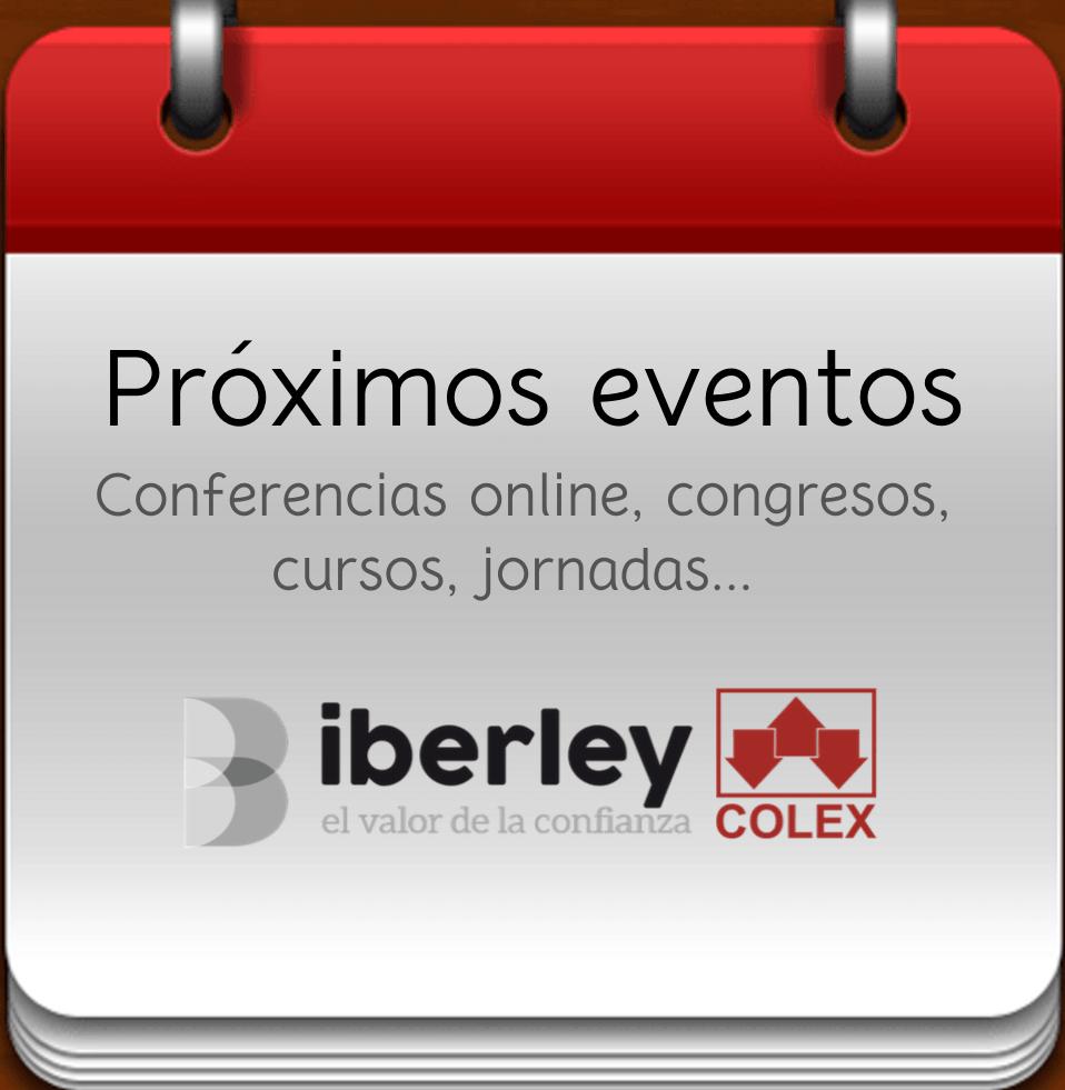 Próximos eventos de Iberley-Colex
