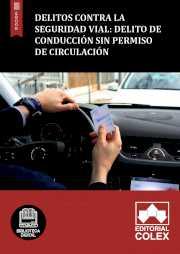Delito de conducción sin permiso de circulación