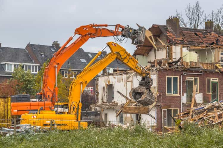 Grúas de demolición