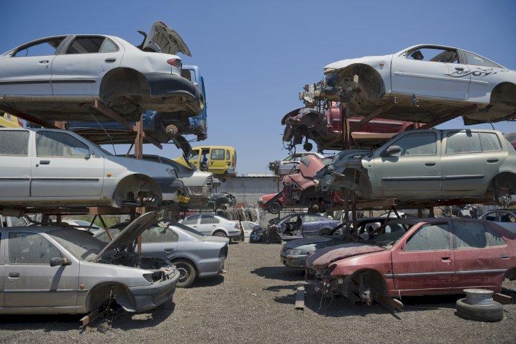 coche chatarra
