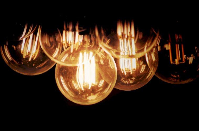 bombillas encencidas apagadas