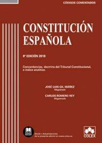 Constitución Española - Código comentado  (Edición 2018)