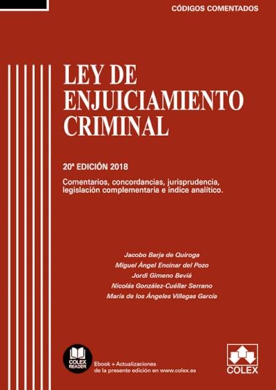 Ley de Enjuiciamiento Criminal - Código comentado