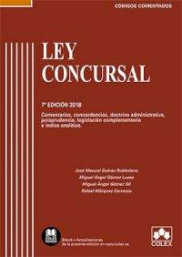 Ley Concursal - Código comentado (Edición 2018)