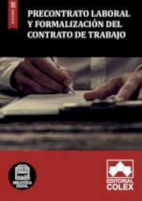 Precontrato laboral y Formalización del contrato de trabajo