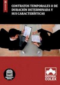 Contratos temporales o de duración determinada y sus características