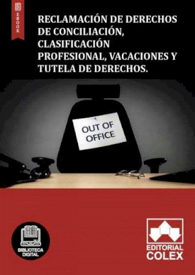 Reclamación de derechos de conciliación, clasificación profesional, vacaciones y tutela de derechos