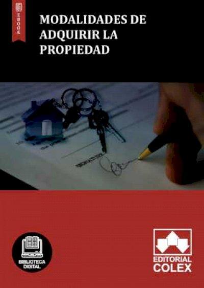 Modalidades de adquirir la propiedad