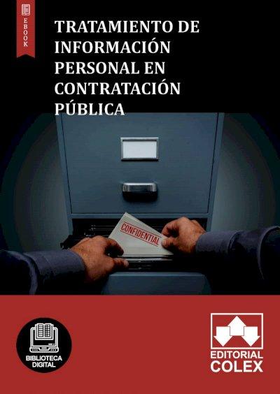 Tratamiento de información personal en contratación pública