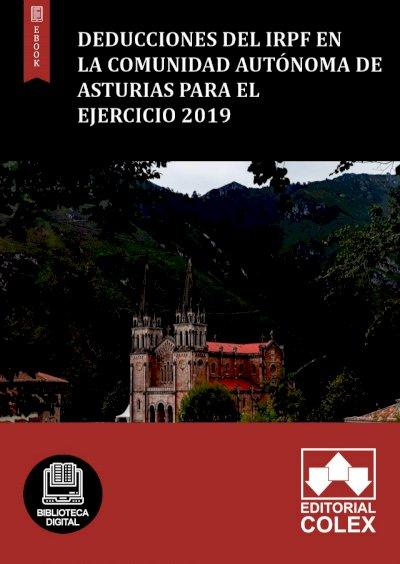 Deducciones del IRPF en la Comunidad Autónoma de Asturias para el ejercicio 2019