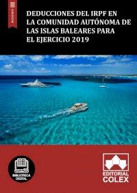 Deducciones del IRPF en la Comunidad Autónoma de las Islas Baleares para el ejercicio 2019