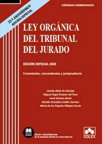 Ley Orgánica del Tribunal del Jurado - Código comentado