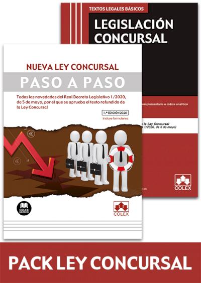 """PACK """"NUEVA LEY CONCURSAL"""". ESPECIAL COLABORACIÓN COLEGIOS DE ABOGADOS"""