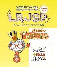LRJSP Versión Martina. Ley 40/2015 de 1 de octubre. Texto legal