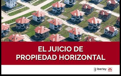 CURSO SOBRE EL JUICIO DE PROPIEDAD HORIZONTAL