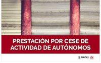 CURSO SOBRE LA PRESTACIÓN POR CESE DE ACTIVIDAD DEL TRABAJADOR AUTÓNOMO