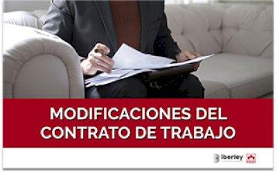 CURSO SOBRE LAS MODIFICACIONES DE LOS CONTRATOS DE TRABAJO