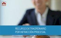 CURSO SOBRE EL RECURSO DE INFRACCIÓN PROCESAL