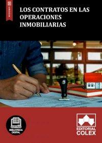 Los contratos en las operaciones inmobiliarias