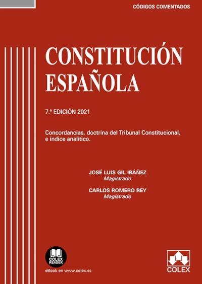 Constitución Española - Código comentado