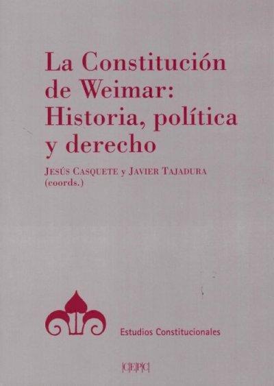 Constitución de Weimar: Historia, política y derecho