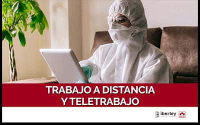 CURSO SOBRE TRABAJO A DISTANCIA Y TELETRABAJO