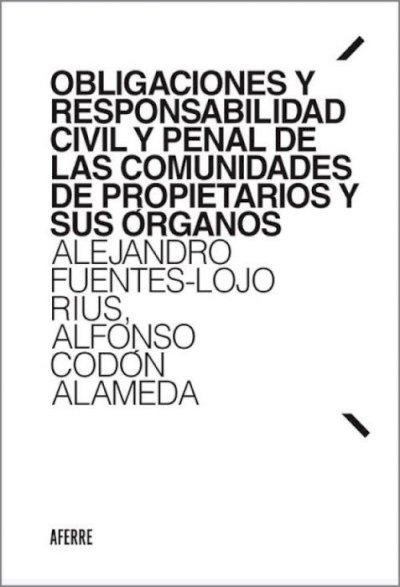 Obligaciones y responsabilidad civil y penal de las comunidades de propietarios y sus órganos