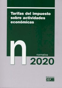 Tarifas del impuesto sobre actividades económicas. Normativa 2020