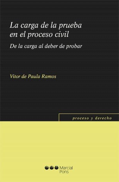 Carga de la prueba en el proceso civil. De la carga al deber de probar