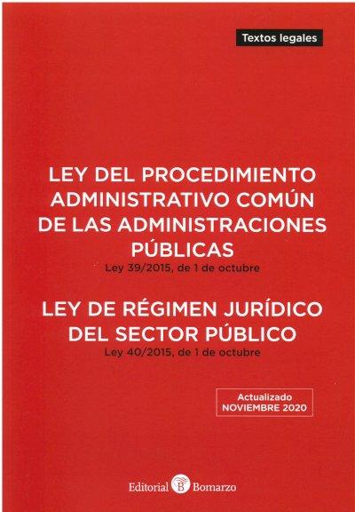 Ley del Procedimiento Administrativo Común de las Administraciones Públicas 2020.