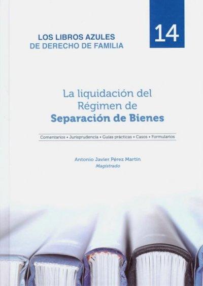 Liquidación del régimen de separación de bienes